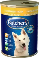 Корм для собак Butchers Basic Canned Pate with Chicken/Rice 0.39 kg