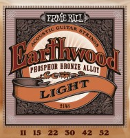 Струны Ernie Ball Earthwood Phosphor Bronze 11-52