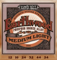 Струны Ernie Ball Earthwood Phosphor Bronze 12-54