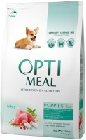 Корм для собак Optimeal Puppy All Breed Turkey 4 kg