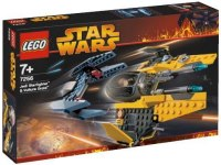 Конструктор Lego Jedi Starfighter and Vulture Droid 7256