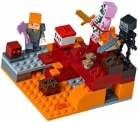 Конструктор Lego The Nether Fight 21139