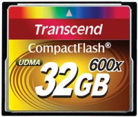 Карта памяти Transcend CompactFlash 600x 32Gb