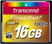 Карта памяти Transcend CompactFlash 1000x 16Gb