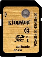 Карта памяти Kingston Ultimate SDXC UHS-I