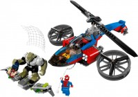 Конструктор Lego Spider-Helicopter Rescue 76016
