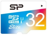 Карта памяти Silicon Power Elite Color microSDHC UHS-1 Class 10 32Gb