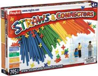 Конструктор Roylco Straws and Connectors (705 pieces) R6090