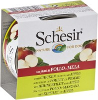 Корм для собак Schesir Adult Canned Chicken/Apple 0.15 kg