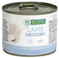 Корм для собак Natures Protection Puppy Canned Lamb 0.2 kg