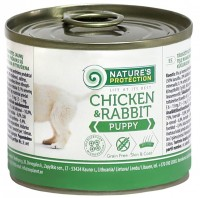 Корм для собак Natures Protection Puppy Canned Chicken/Rabbit 0.2 kg