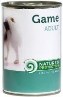 Корм для собак Natures Protection Adult Canned Game 0.4 kg