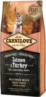 Корм для собак Carnilove Puppy Large Breed Salmon/Turkey 12 kg