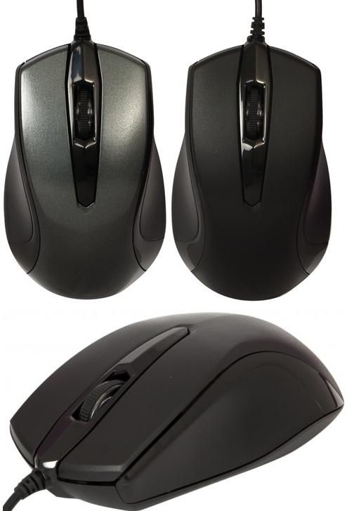 Мышь Defender MM-340 Black-Grey 52340