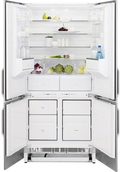 Холодильник Side-by-Side встраиваемый.