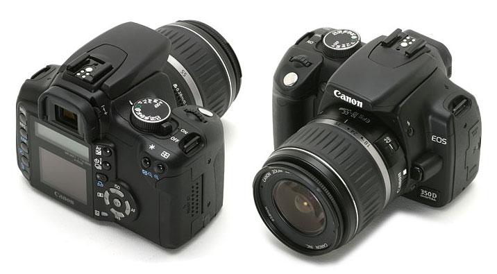 фото Canon EOS 350D