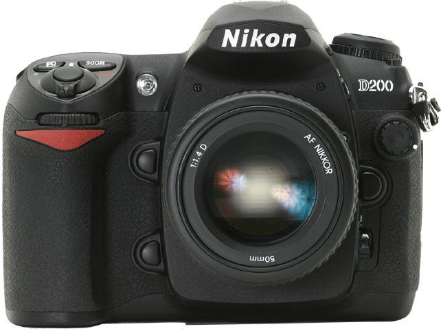фото Nikon D200