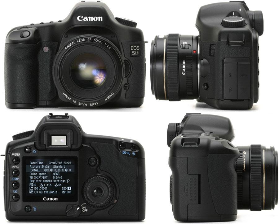 фото Canon EOS 5D