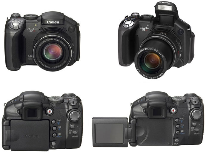 фото Canon PowerShot S3 IS