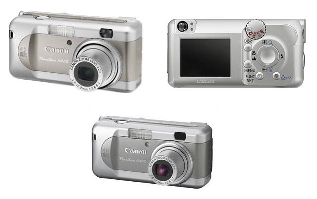 фото Canon PowerShot A420