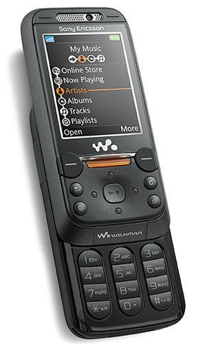 фото Sony Ericsson W850i