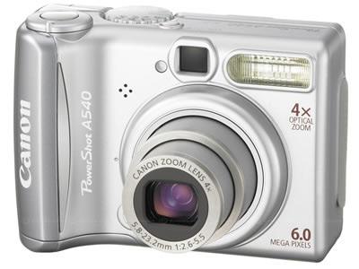 фото Canon PowerShot A540