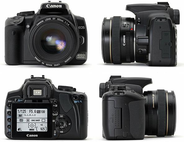 фото Canon EOS 400D