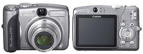 фото Canon PowerShot A710 IS