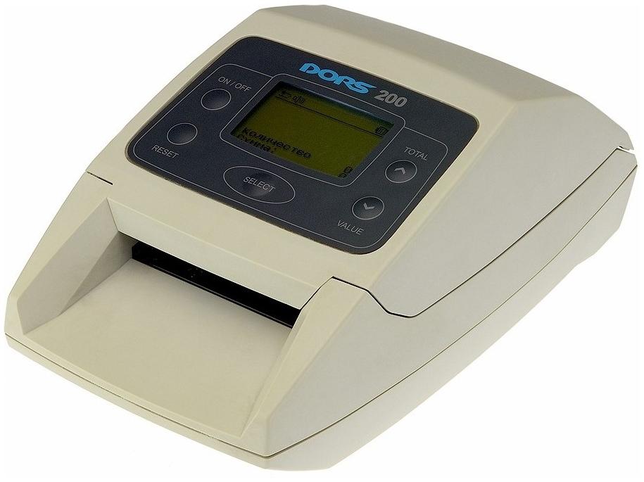 Автоматический детектор банкнот Dors 200 M