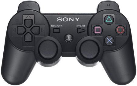 Геймпад для PS3 Sony Dualshock 3 черный (CECHZC2E) - купить в