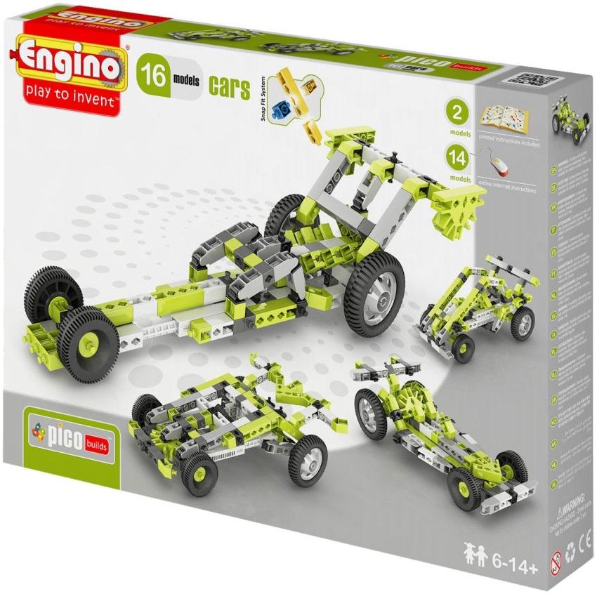 Инструкция по сборке engino 16 models