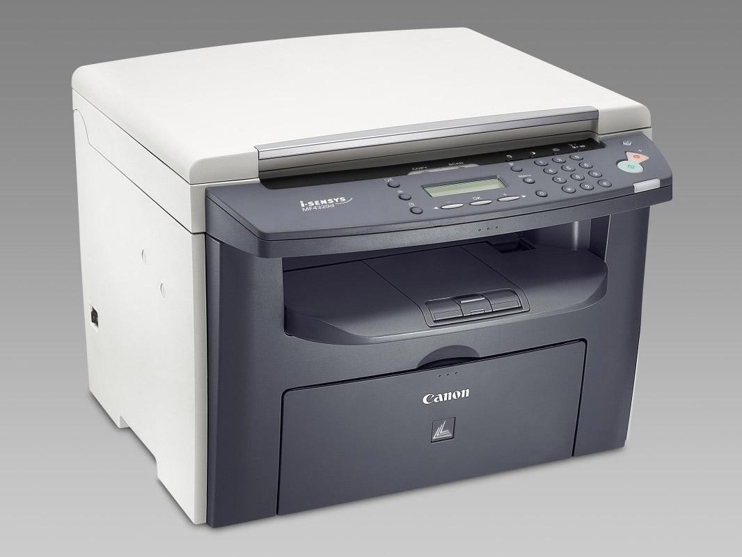 I sensys mf4320d скачать драйвер на принтер