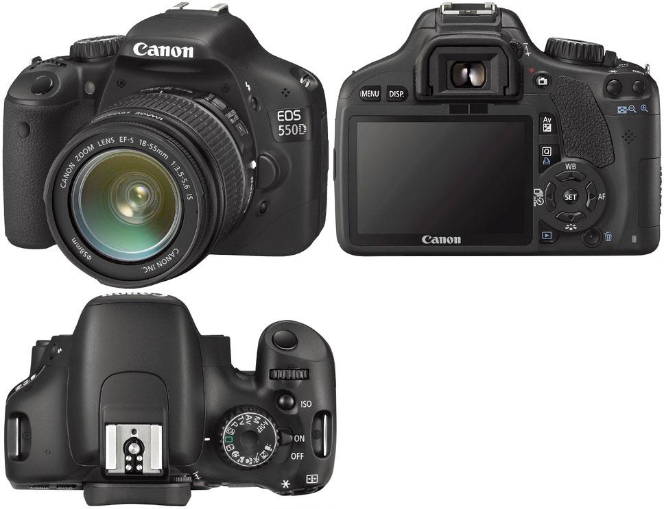 Инструкции к фотоаппаратам canon eos 550d